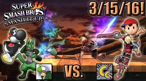 Super Smash Bros. - Smash It Up! (Wii U) - 3/15/16! Chuggaaconroy PUN-ches In!
