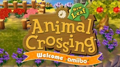 Animal Crossing- New Leaf - Welcome amiibo - Day 1- Old Life