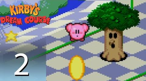 Kirby's Dream Course - Whispy Woods (Part 2)