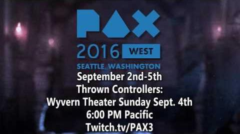 I'm going to be at PAX West!