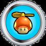 Propeller Mushroom Badge