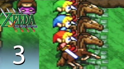The Legend of Zelda: Four Swords Adventures - Episode 3: Hyrule Castle