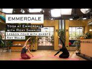 Yoga at Emmerdale with Roxy Shahidi - Episode 4