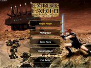Empire Earth Art of Conquest Menu