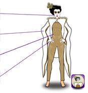 Empyrean Geisha Costume Detail