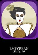 Empyrean Geisha Button