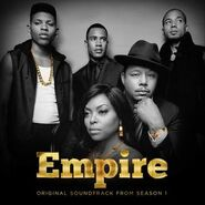Empire Cast - Official Soundtrack from Season One, Album Cover
