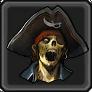 Undead pirate item