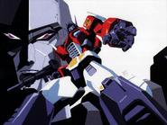 Convoy and Megatron by Masami Obari