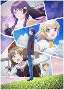 OsaMake anime key visual