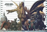 Monster Lineup - The usual suspects by Arthur Adams