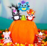 Diorama - companions pumpkin