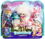 Doll stockphotography - Friendship Set box stockphoto