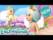 @Enchantimals Meet the Royals - The Official Castle Tour & New ROYAL FRIENDS! 👑 - Episode 10 & 11