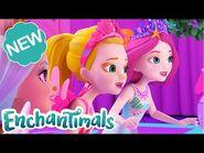 Enchantimals -MeetTheRoyals - THE MISSING QUEEN & ROYAL LOOKING GLASS TO WONDERWOOD! - Ep