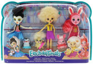 Doll stockphotography - Ballet Cuties multipack box stockphoto