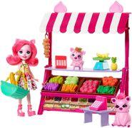 Doll stockphotography - farmers market I
