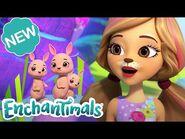 🏝 ENCHANTED POOL PARTY! 🌈 - Sunny Savanna Sparkle Spectacular Episode 2 - @Enchantimals