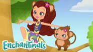 Welcome to Junglewood! A sneak peek at a new Enchantimals series coming this fall!