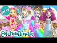 Enchantimals Meet the Royals 👑 - Rainbow Domes and Royal Tea Parties! - Ep 14 & 15 - @Enchantimals