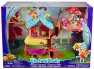 Doll stockphotography - Butterfly Clubhouse box stockphoto