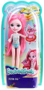 Doll stockphotography - Swimwear Petya box stockphoto
