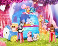 Diorama - companions ice cream