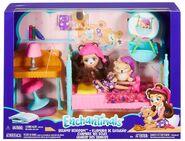 Doll stockphotography - Dreamy Bedroom box stockphoto