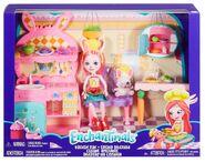 Doll stockphotography - Kitchen Fun box stockphoto
