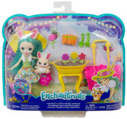 Doll stockphotography - Bunny Blooms box stockphoto