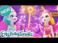 @Enchantimals Meet the Royals - GEMSTONES and Royal Challenges! - Episode 12 & 13