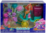 Doll stockphotography - Seahorse Carriage box stockphoto