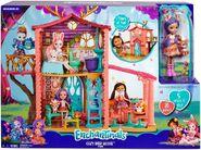 Doll stockphotography - Cozy Deer House box stockphoto