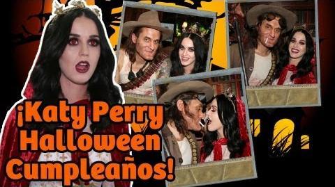 ¡Katy Perry Halloween Cumpleaños!