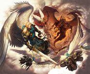 War in heaven by wes talbott-d52ju5k