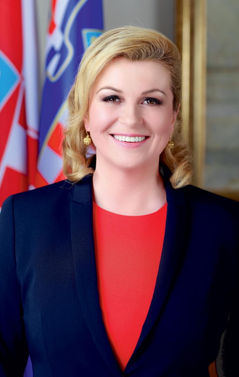 Grabar-kitarovic nude kolinda Croatian President