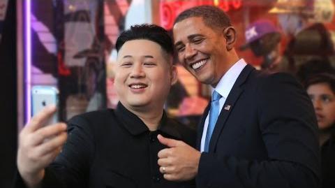 Barack Obama And Kim Jong-un Try To Crash The Oscars