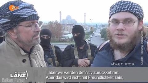Jürgen Todenhöfer, bei Markus Lanz über die ISIS IS am 30.4