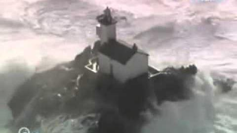 Lighthouses in HUGE storms! Biggest waves ever...