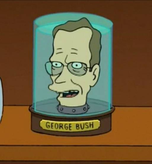 George H. W. Bush's Head