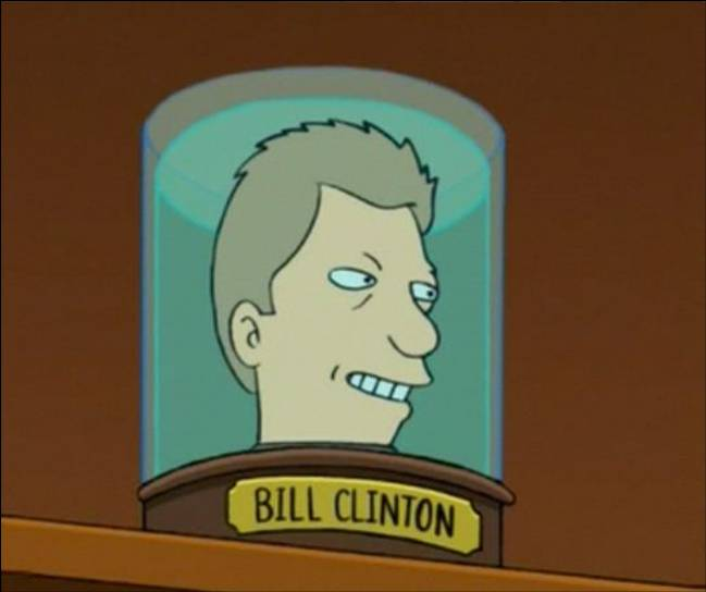 Bill Clinton's Head