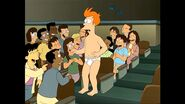 The Class Laughing at Fry in his underwear