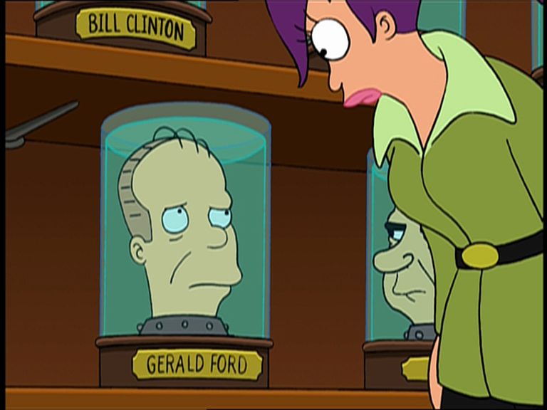 Gerald Ford's Head