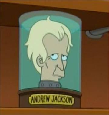 Andrew Jackson's Head