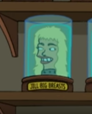 Jill Big Breasts' Head