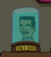 Long D Silver Head