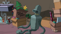 Bender Gets Stored in the Basement