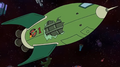 Old Planet Express Ship