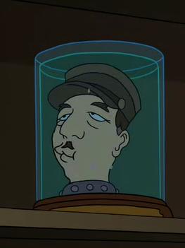 Charles de Gaulle's Head