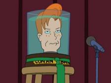 Conan O'Brien's head